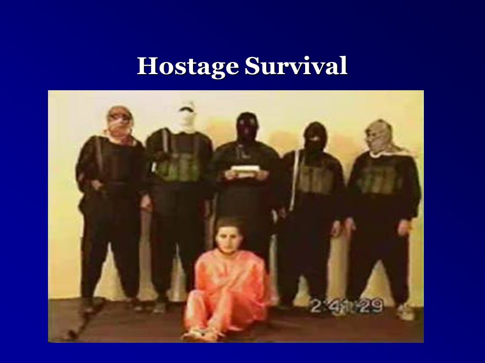Hostage Survival