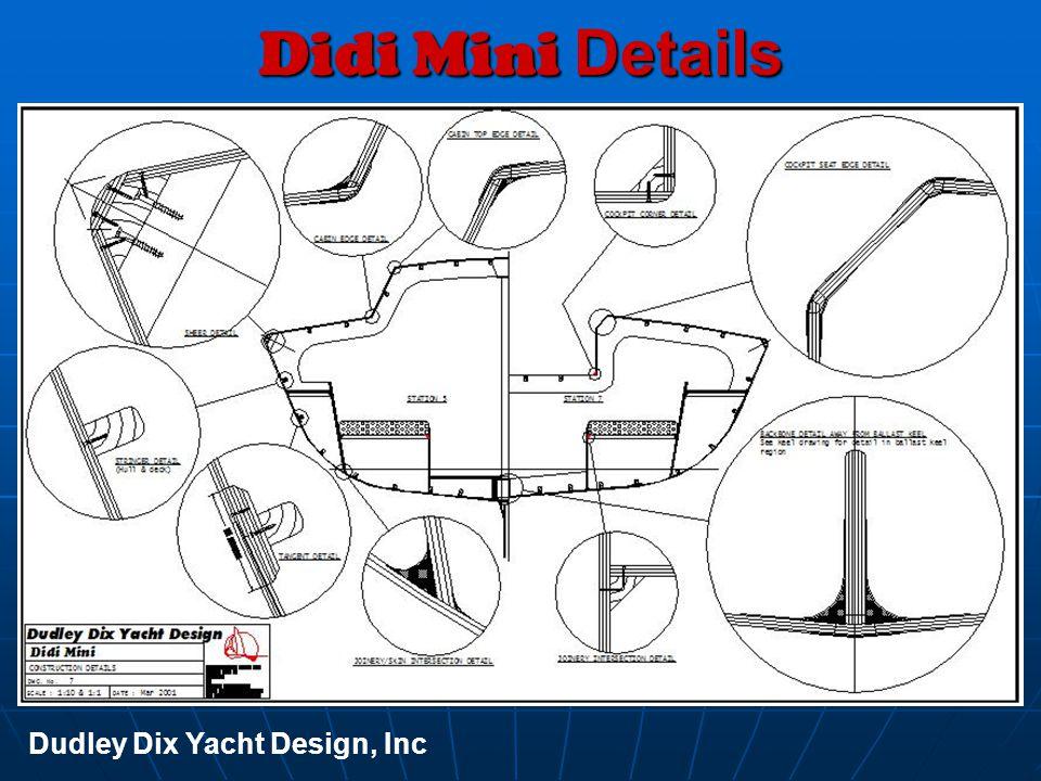 Didi Mini Details Dudley Dix Yacht Design, Inc