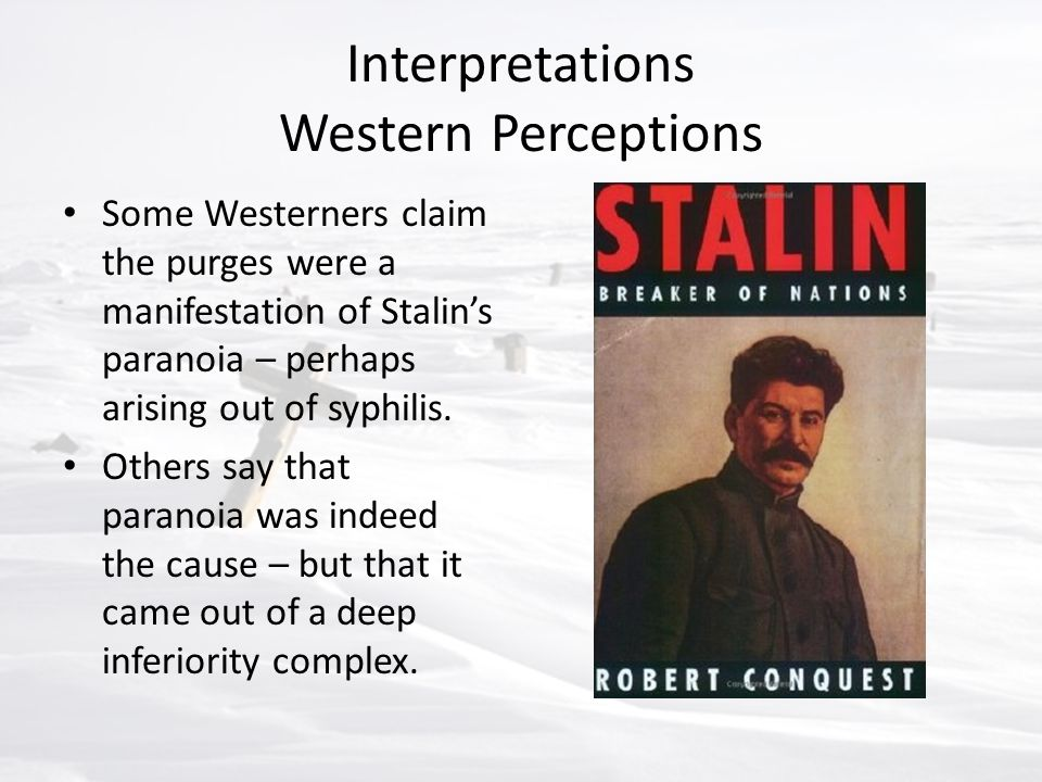 Interpretations Western Perceptions