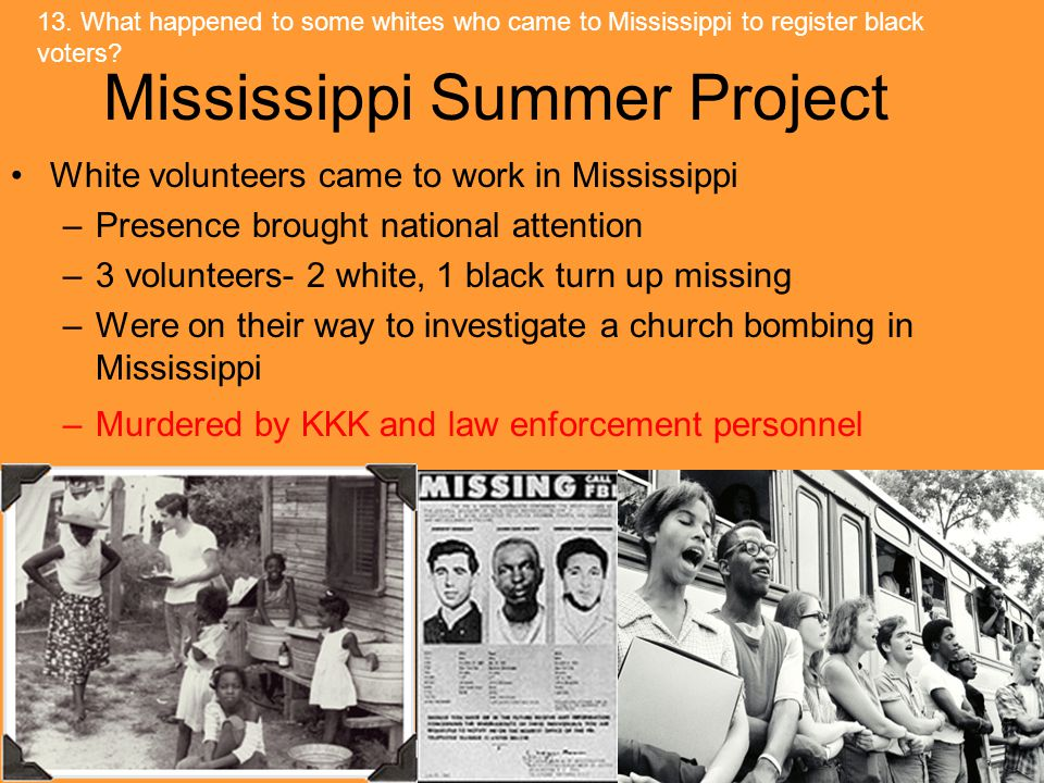 Mississippi Summer Project