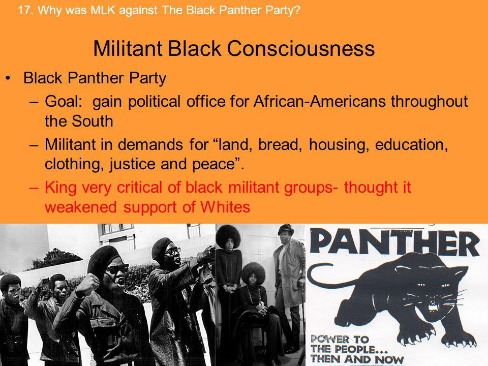 Militant Black Consciousness