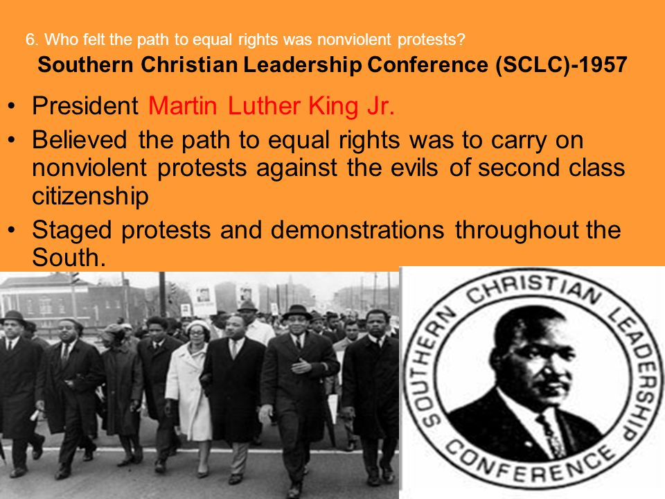 Southern Christian Leadership Conference (SCLC)-1957