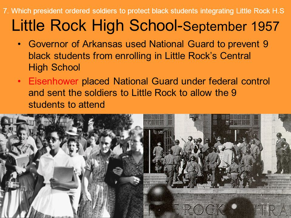 Little Rock High School-September 1957