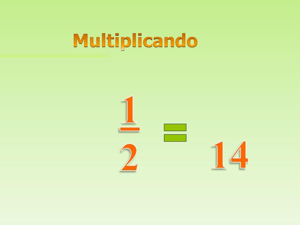 Multiplicando 14 1 2