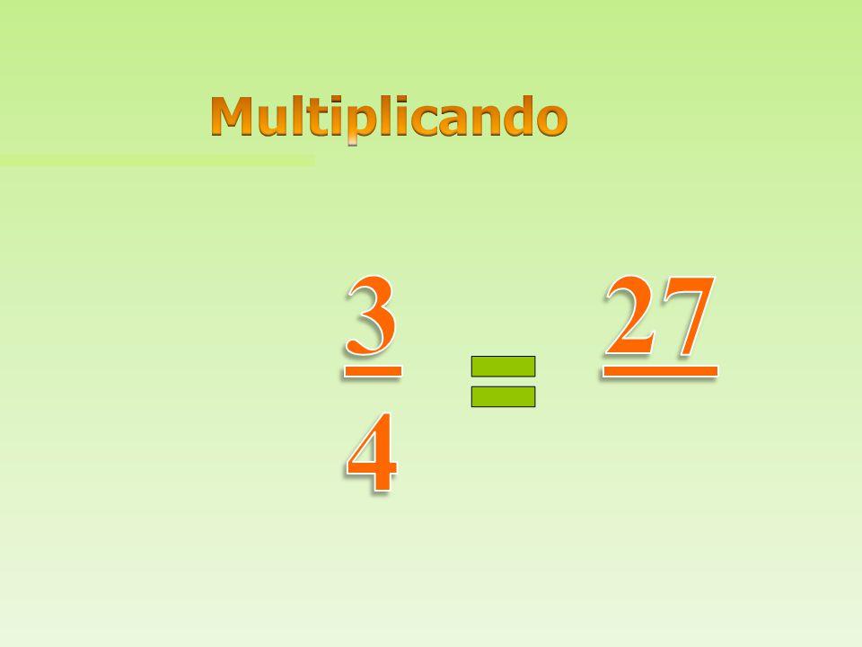 Multiplicando 3 4 27