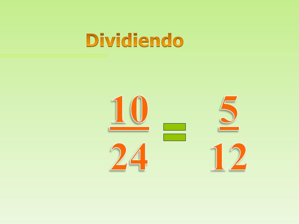 Dividiendo 10 24 5 12