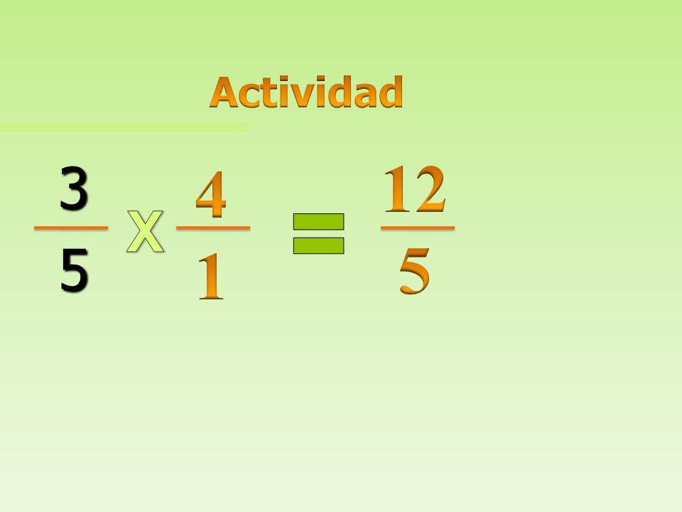 Actividad 12 5 3 5 4 1 X
