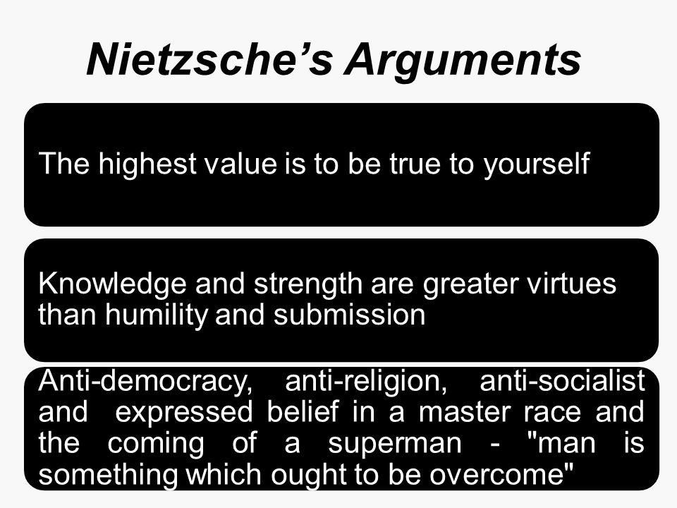 Nietzsche's Arguments