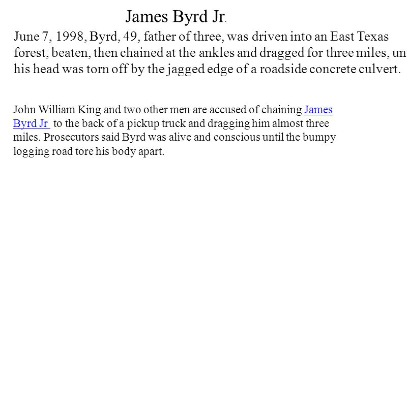 James Byrd Jr.