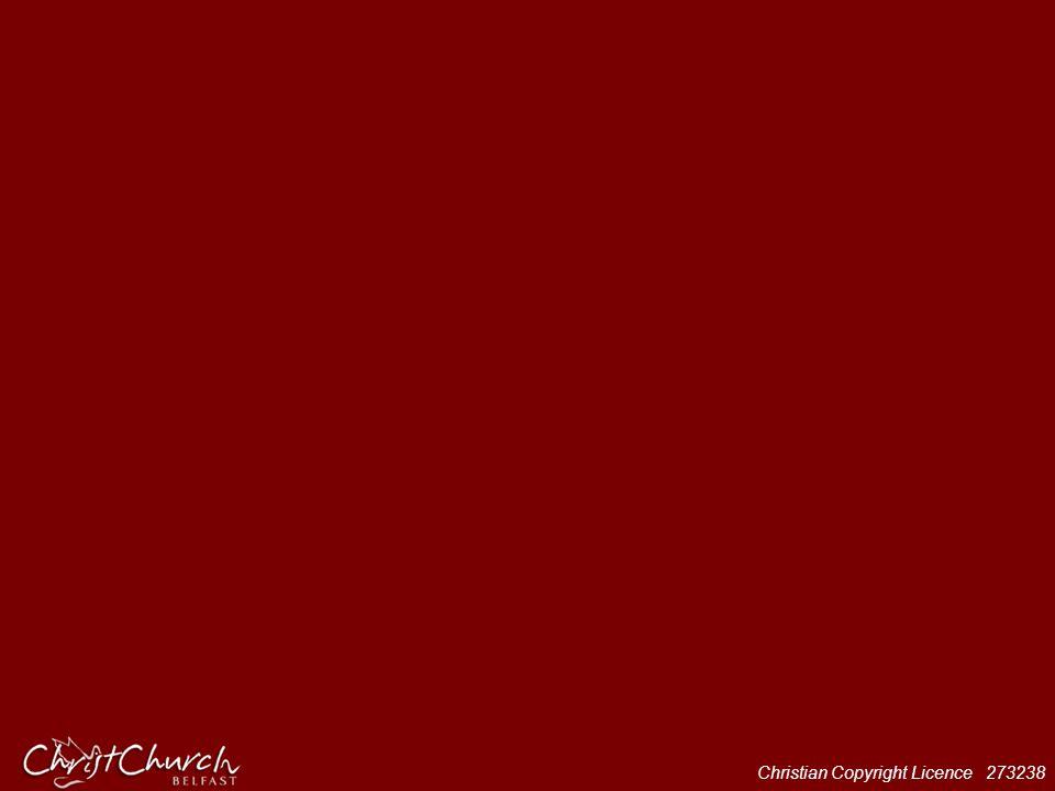Verse – Arial 40 bold; Chorus – Arial 40 Bold Italic; Credits – Arial 12 Italic