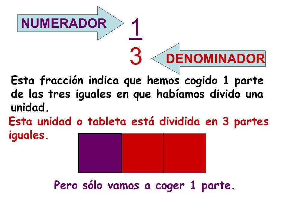 13 NUMERADOR DENOMINADOR