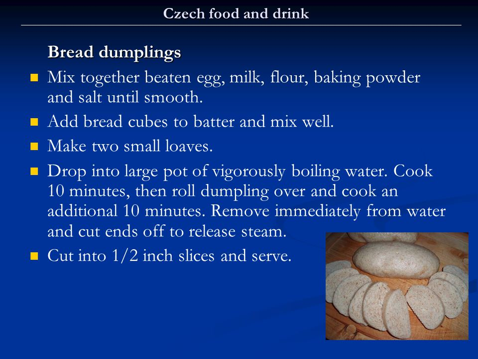 Add bread cubes to batter and mix well. Make two small loaves.