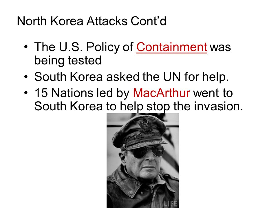 North Korea Attacks Cont'd