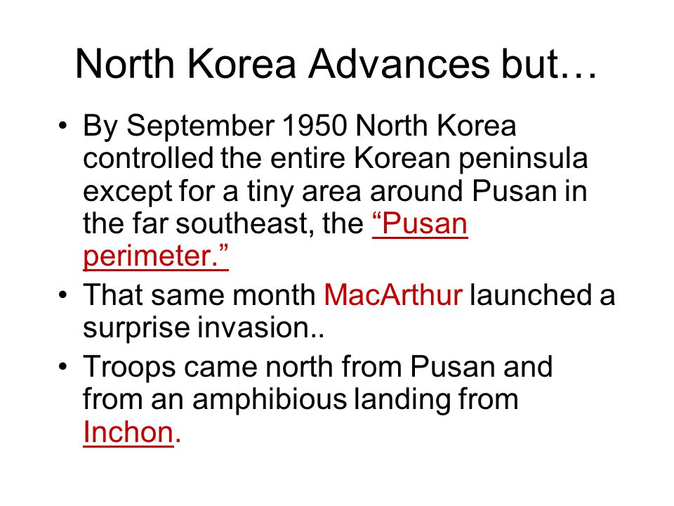 North Korea Advances but…