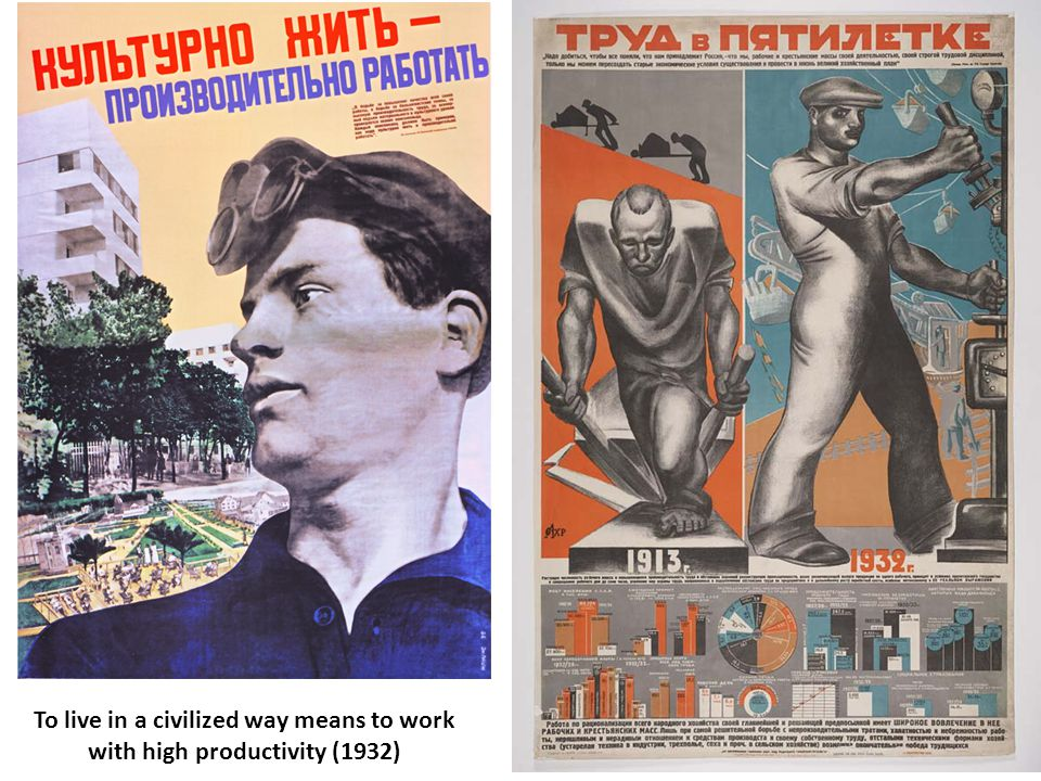 To live in a civilized way means to work with high productivity (1932)