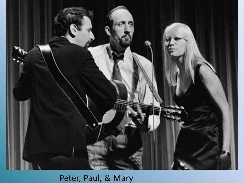 Peter, Paul, & Mary