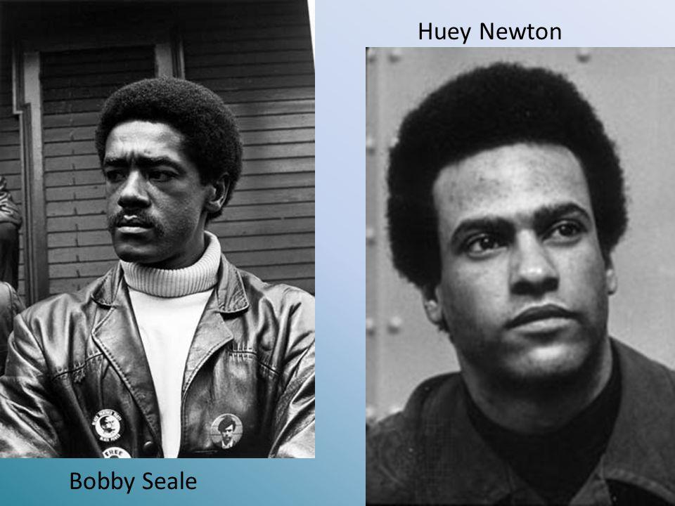 Huey Newton Bobby Seale