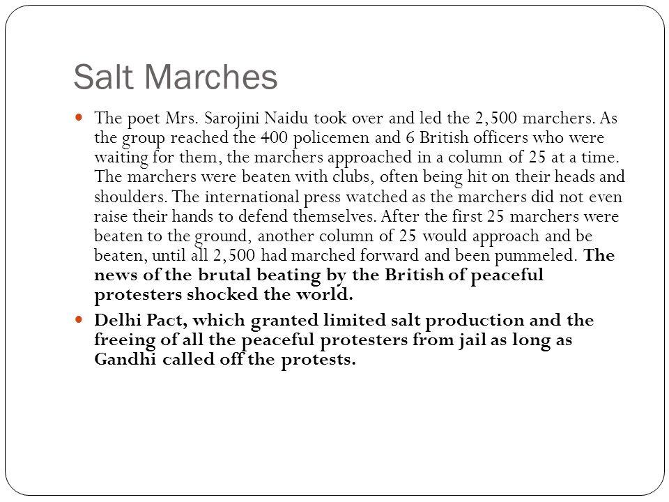 Salt Marches