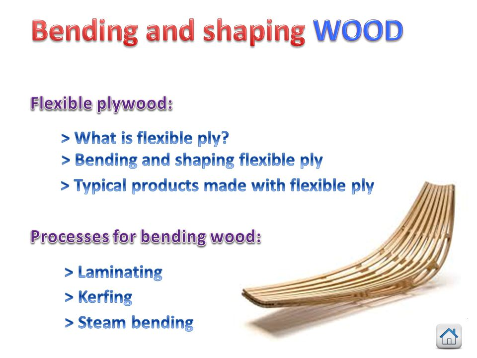 > Bending and shaping flexible ply