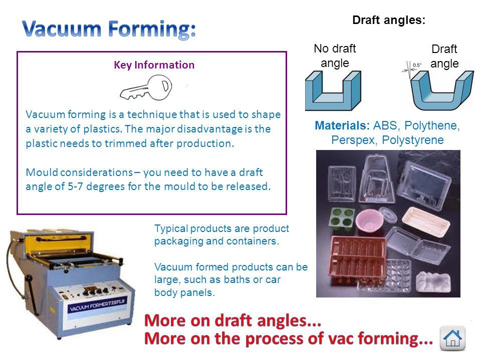 Materials: ABS, Polythene,