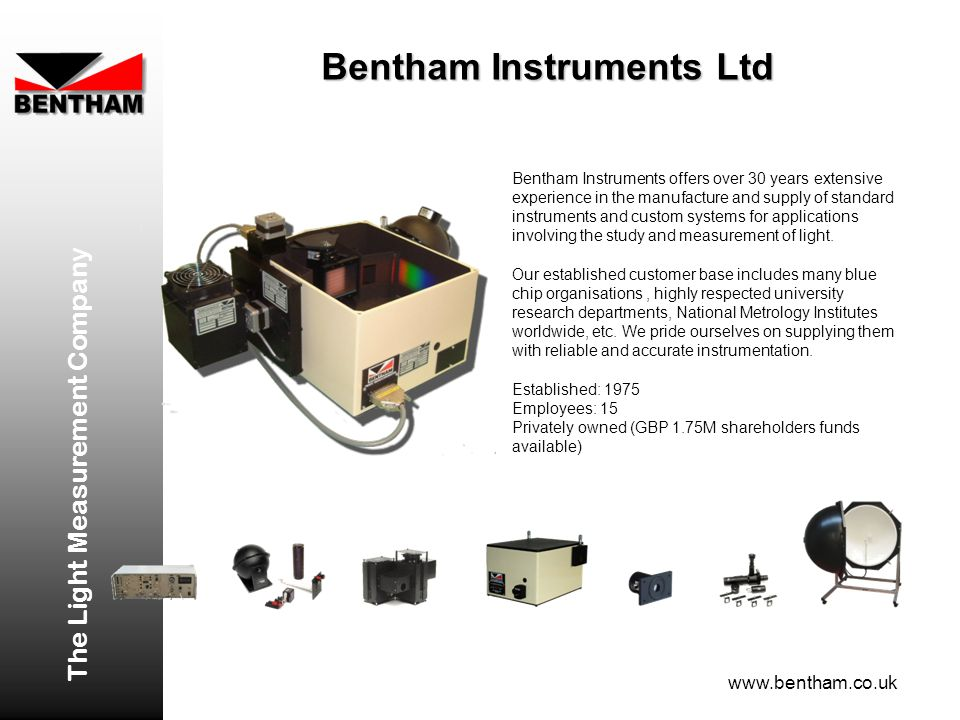 Bentham Instruments Ltd