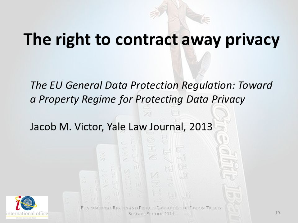 The right to contract away privacy