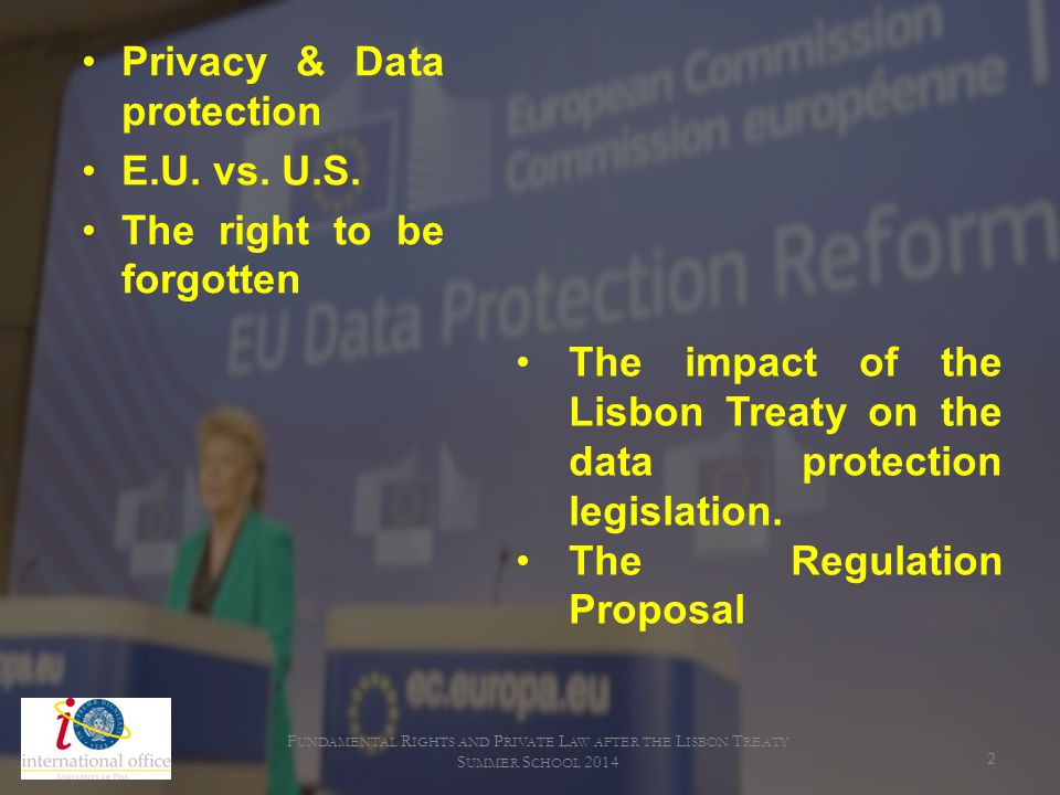 Fundamental Rights and Private Law after the Lisbon Treaty