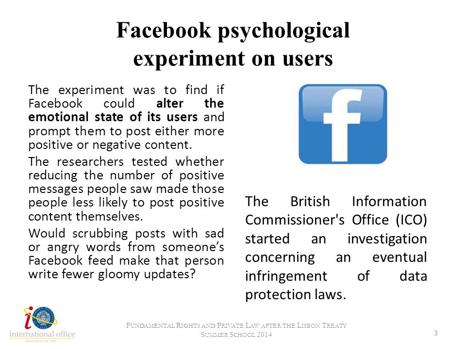 Facebook psychological experiment on users