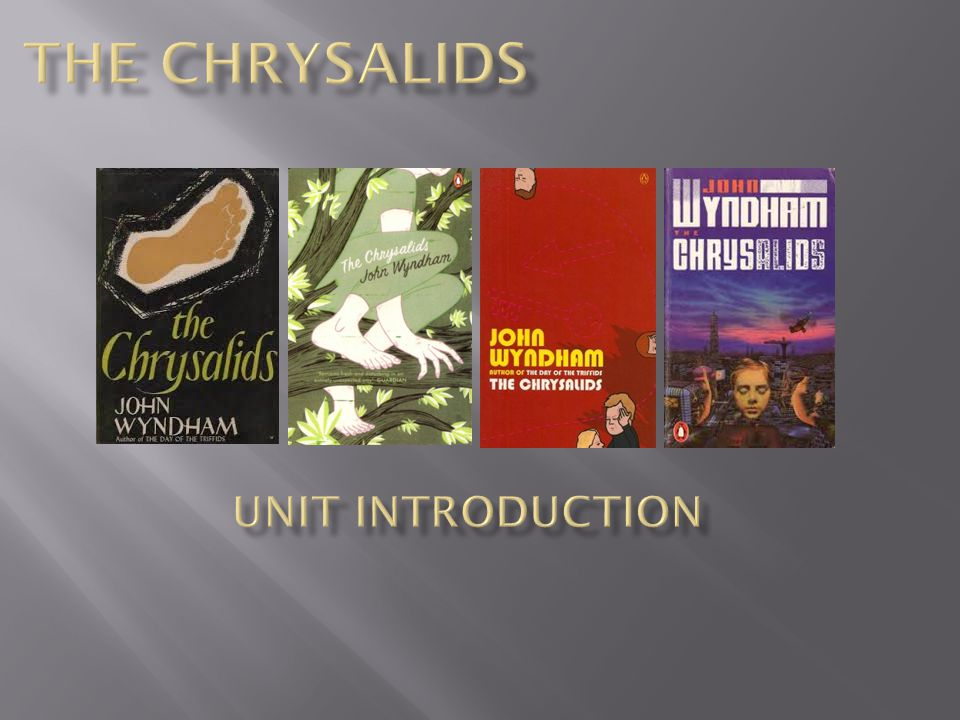 an introduction to the chrysalids the importance of telepathy And find homework help for other the chrysalids questions at enotes  it is his  introduction to a real life deviant, and what's great about the interaction is   another important event is david and his group discovering their telepathic ability.