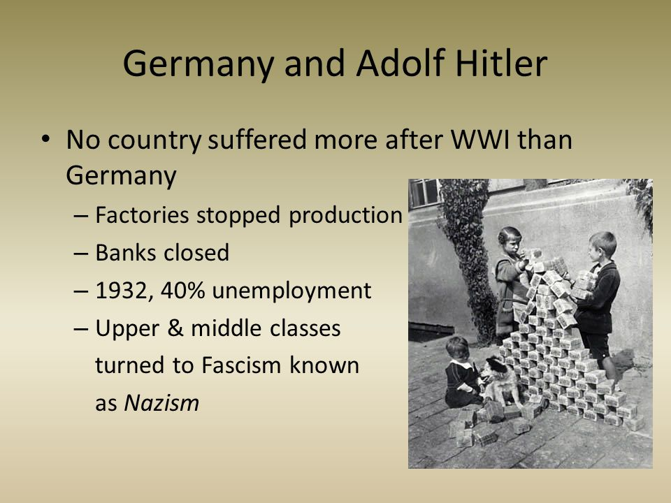 Germany and Adolf Hitler
