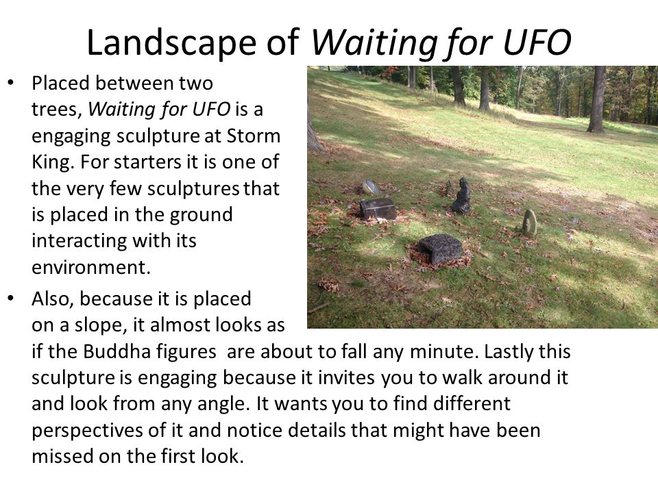 Landscape of Waiting for UFO
