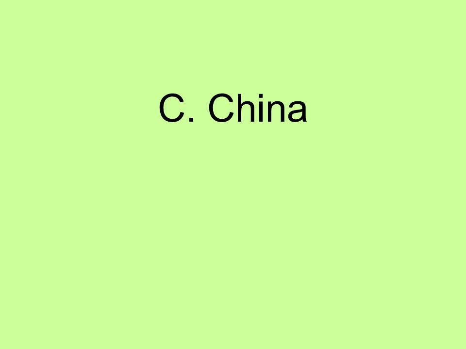 C. China