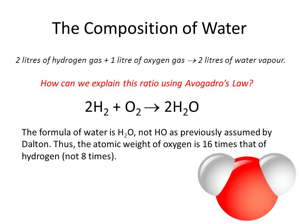 The Composition of Water