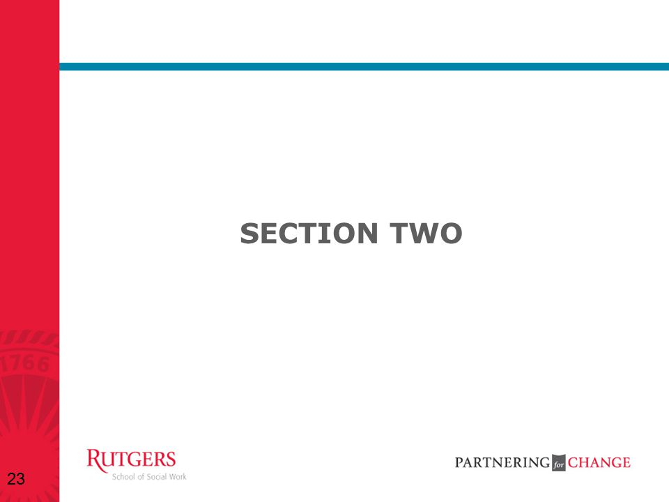 SECTION TWO 23