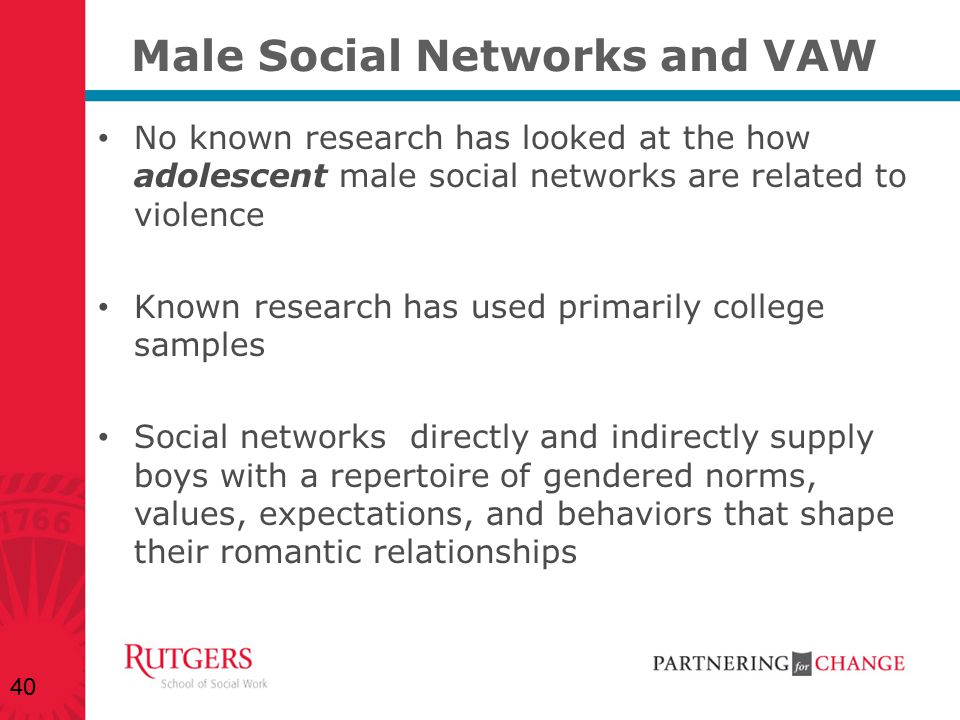 Male Social Networks and VAW