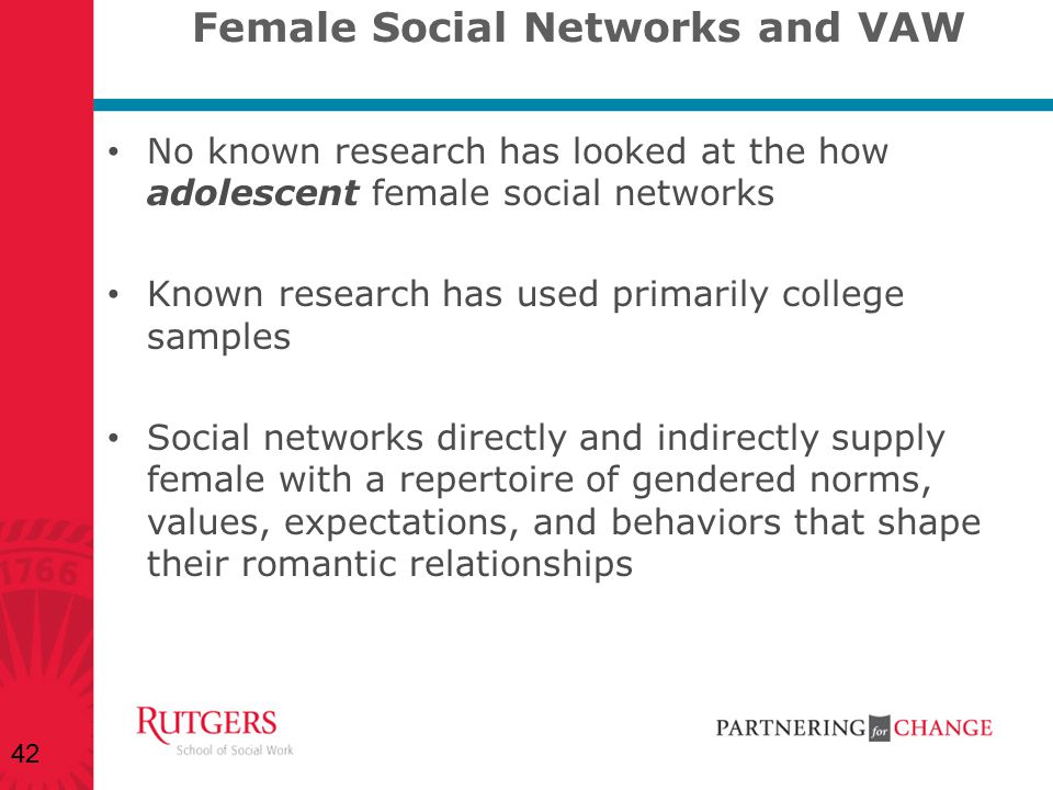 Female Social Networks and VAW