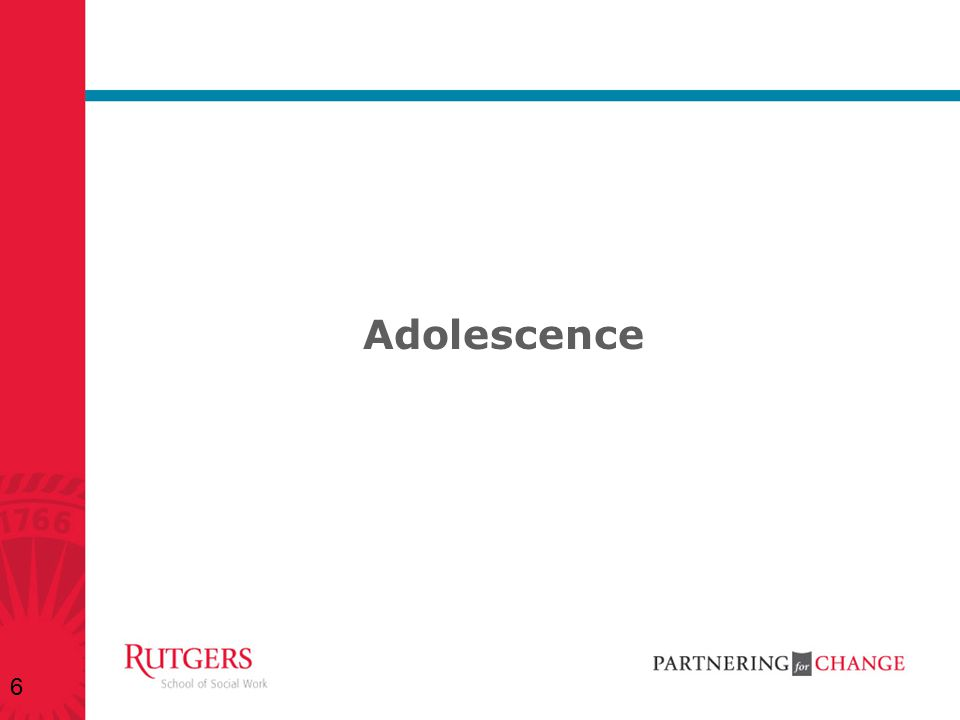 Adolescence 6