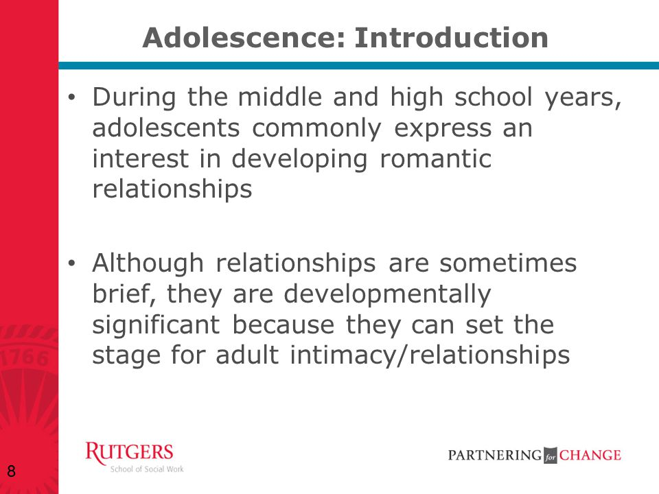 Adolescence: Introduction