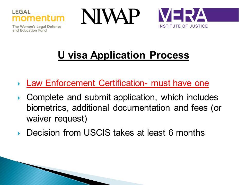 U visa Application Process