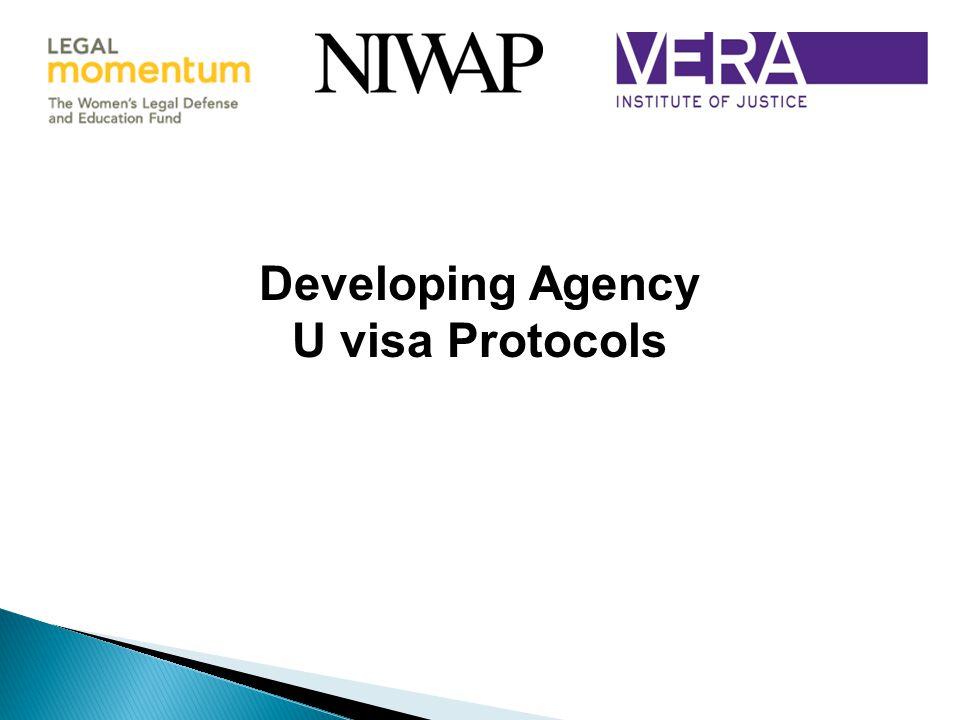 Developing Agency U visa Protocols