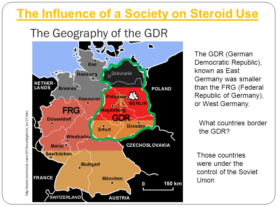 The Geography of the GDR