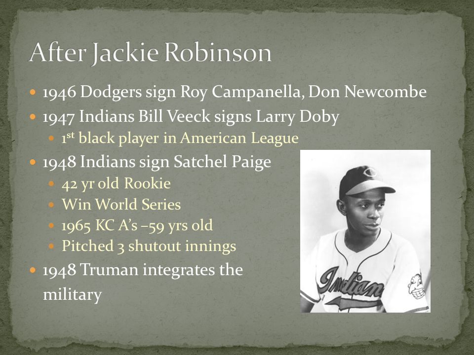 After Jackie Robinson 1946 Dodgers sign Roy Campanella, Don Newcombe
