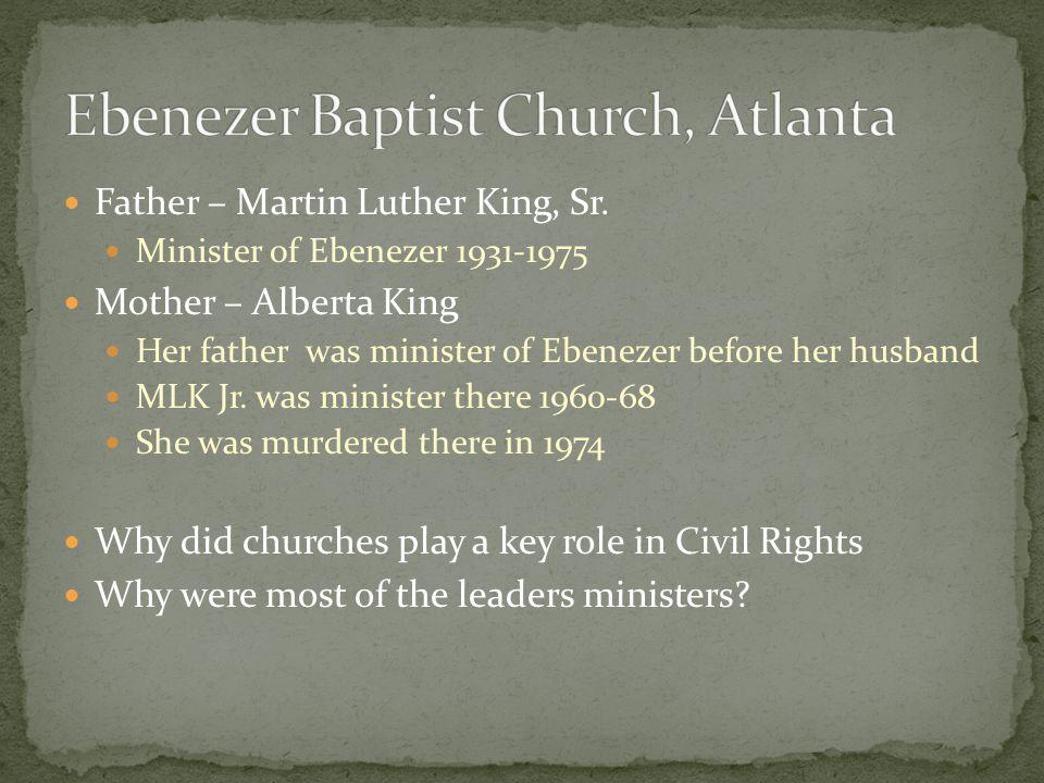 Ebenezer Baptist Church, Atlanta