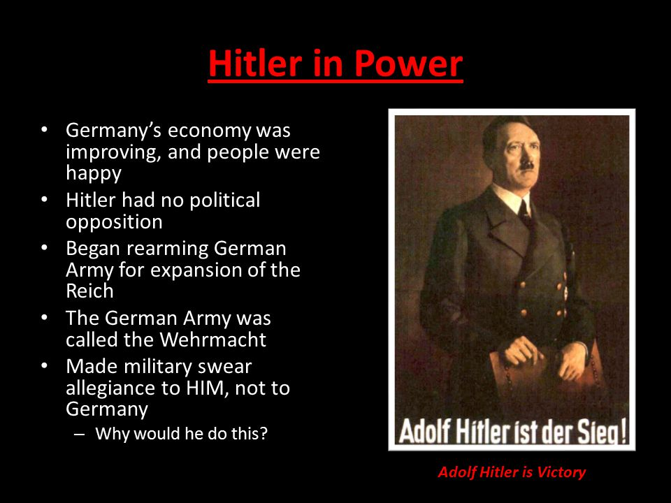Adolf Hitler is Victory
