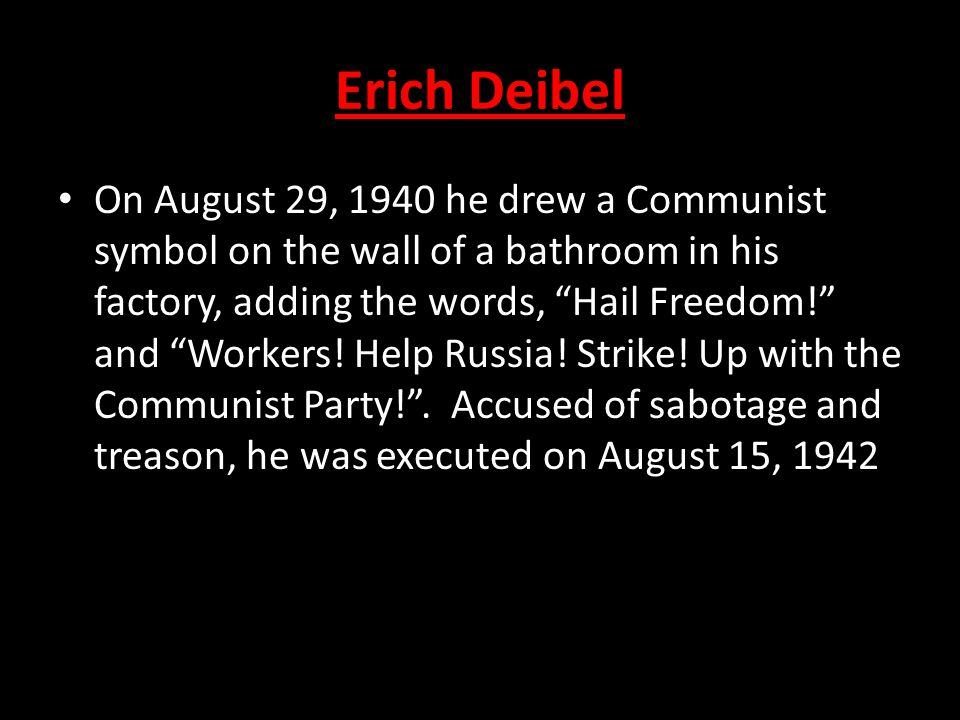 Erich Deibel