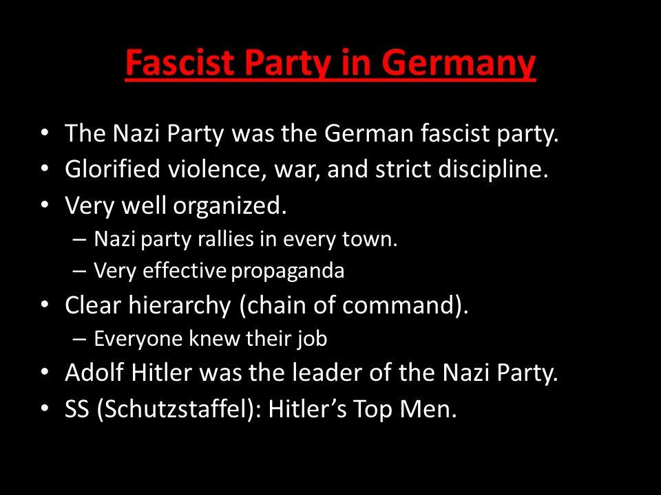 Fascist Party in Germany
