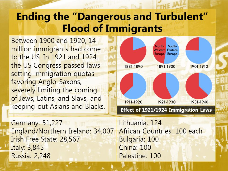 Ending the Dangerous and Turbulent Flood of Immigrants