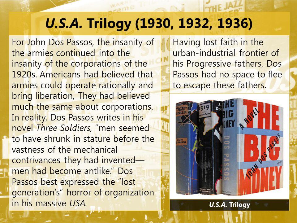 U.S.A. Trilogy (1930, 1932, 1936)