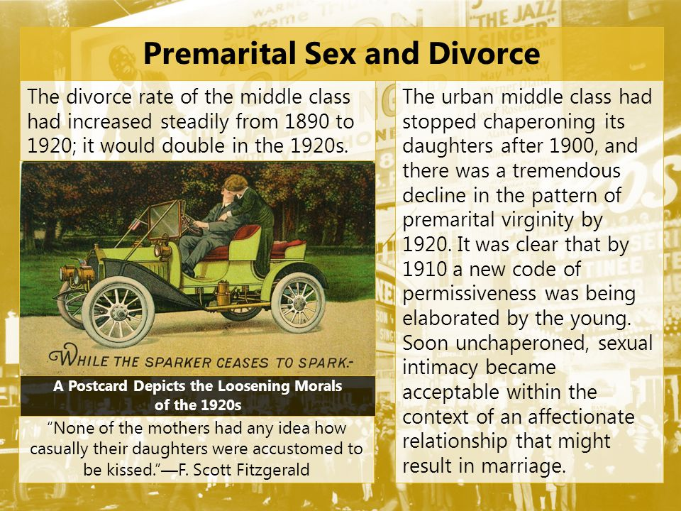 Premarital Sex and Divorce
