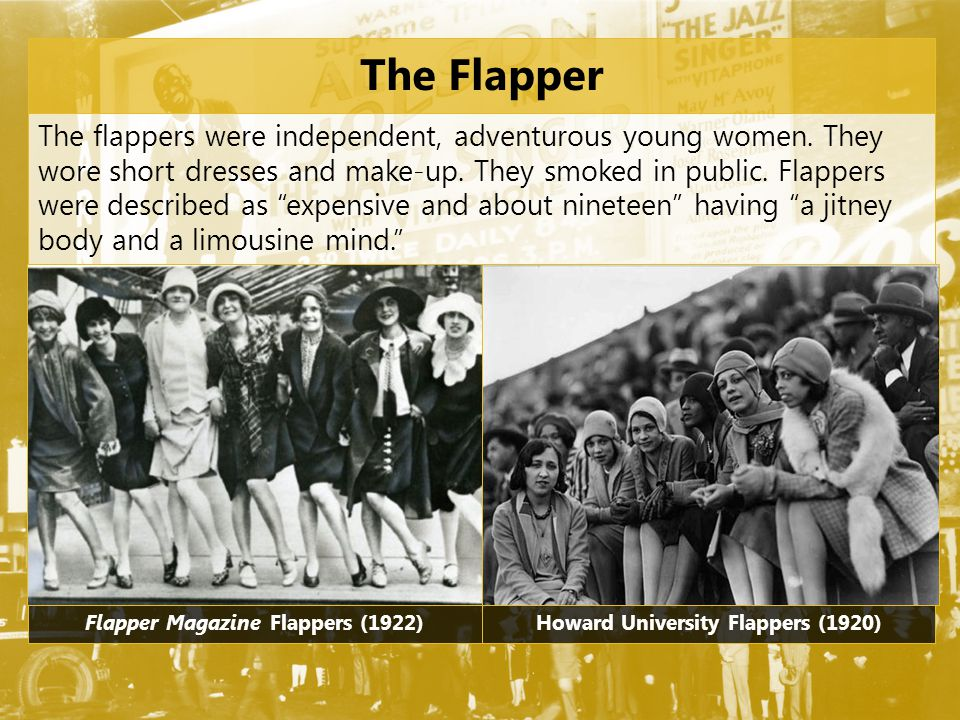 Flapper Magazine Flappers (1922) Howard University Flappers (1920)